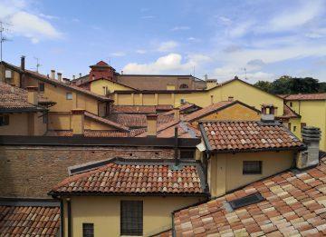 Un attico sui tetti di Bologna